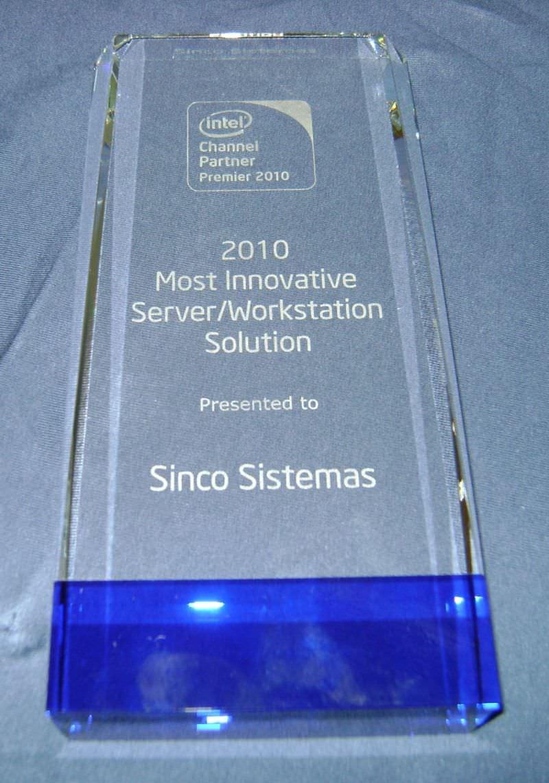 PRÊMIO Most Innovative Server Solution
