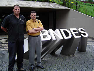Treinamento de Abel Alves no BNDES, 28/01/05