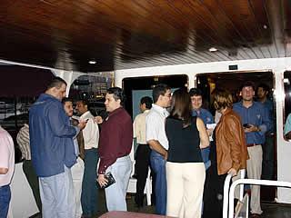 Evento SINCO a bordo do Iate Casablanca, 02/12/04