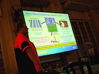 Lançamento dos Servidores SINCO baseados em Xeon Woodcrest