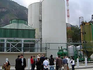 Reservatório térmico de água gelada - para refrigeração do DataCenter