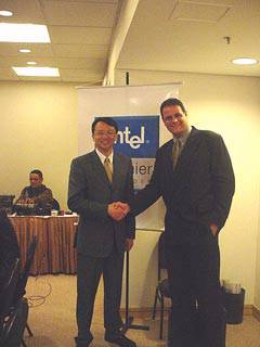 Roundtable com Jason Cheng, Vice Presidente e Diretor de Vendas e Marketing da Intel