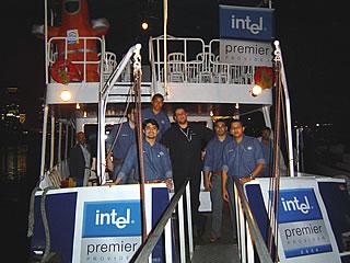 Lançamento dos processadores Intel® Xeon® 90nm no RJ. Iate Casablanca, Marina da Glória. 26 de Agosto de 2004
