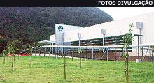 Prédio da Optiglobe em Vargem Grande, RJ