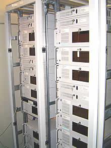 Vista aproximada dos servidores Rack Mount