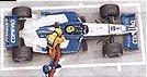 Formula 1, modelo 3D para campanha da Gasolina BR Podium