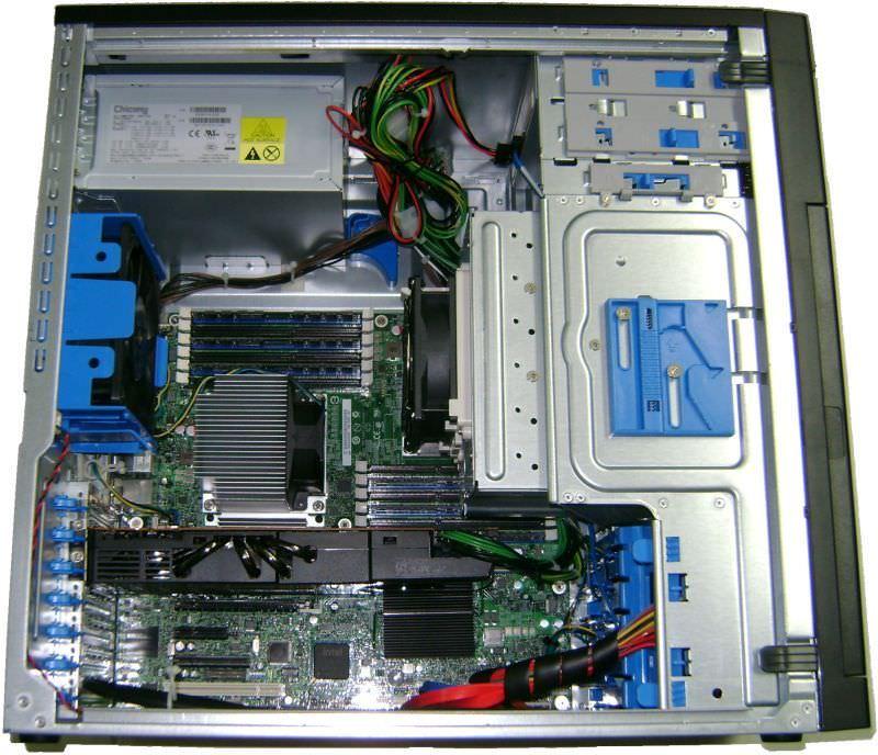 Gabinete SC5650WS - Origami Design : Organização dos cabos, visando melhor fluxo de ar.