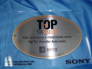 Sony TOP TEN Reseller