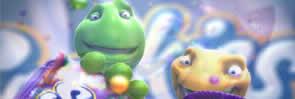 Personagens animados criados pela Vetor Zero